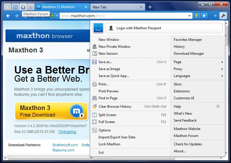 скачать скины для Maxthon 4 - фото 9